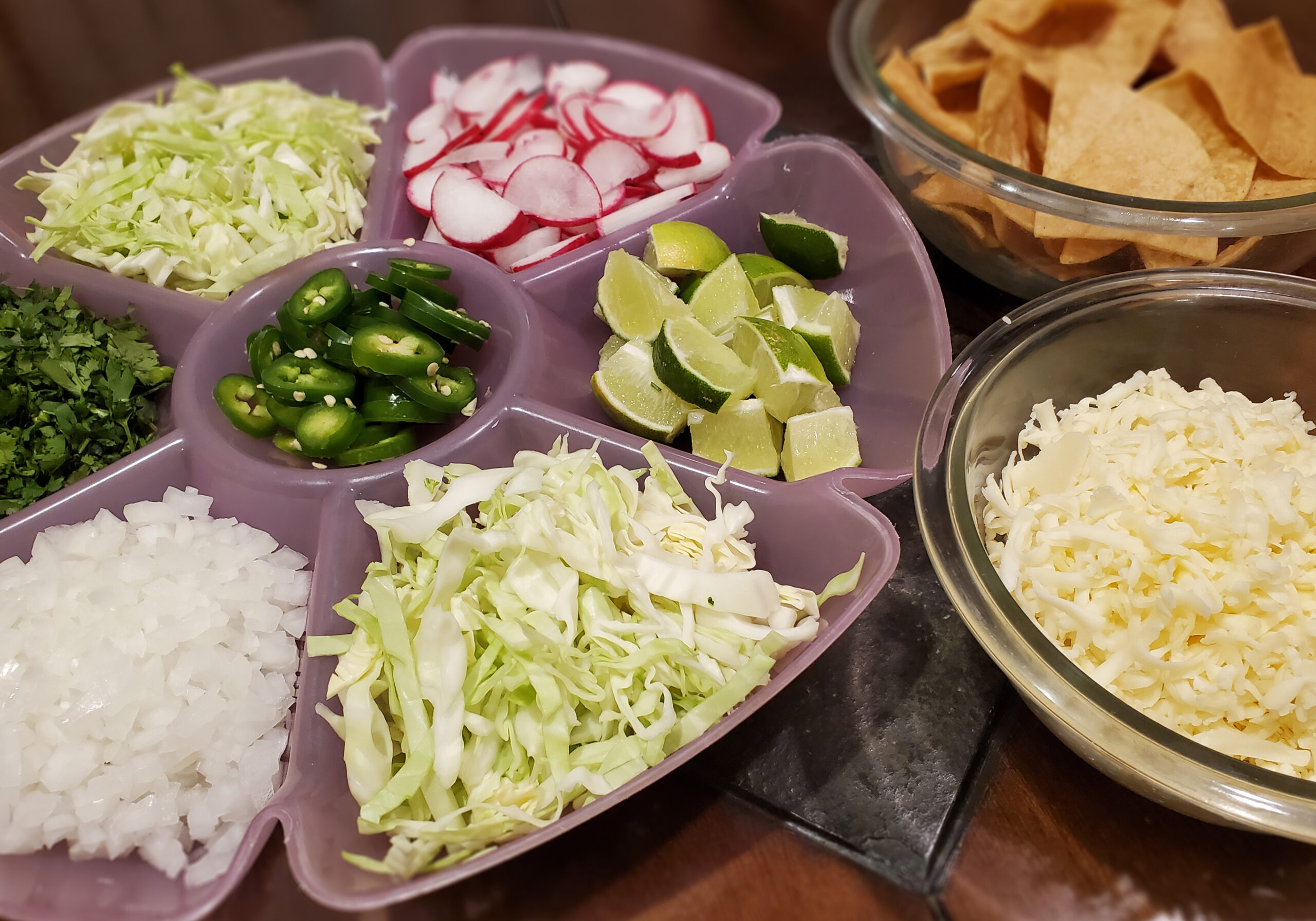 Pozole Toppings