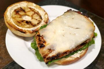 Luau Grilled Chicken Sandwiches