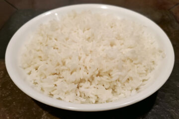 Fool-proof Cooked White Rice