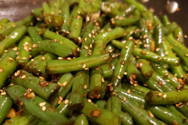 Chinese Buffet Style Green Beans