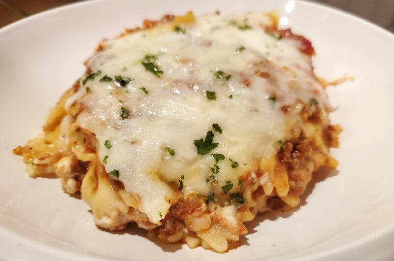 Lasagna Casserole (aka Lazy Lasagna)